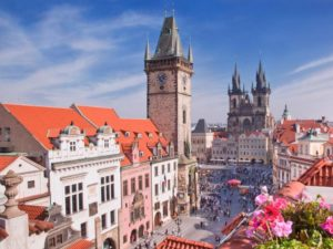 Вокальный музыкальный конкурс в Чехии