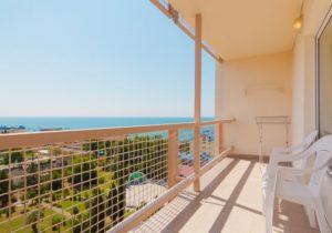 Вид с балкона Чёрное мое Адлер