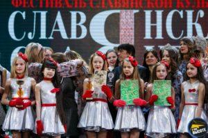 Конкурс девочки в костюмах награждение
