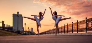 Балерины на закате
