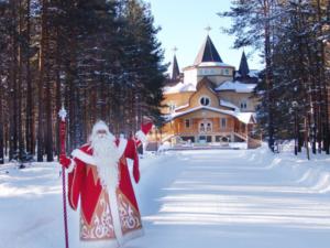 Дед Мороз, Усадьба Деда Мороза, Дом Деда Мороза Великий Устюг