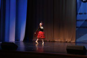 """Фламенко соло (народный испанский танец) на хореографическом конкурсе """"Танцующий Мост"""" в Сочи 2018 г."""