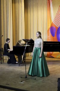 Академический (классический) вокал на вокальном конкурсе Весенний Спев (Сочи 2019)