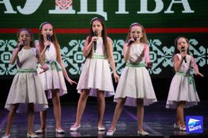 Вокальный ансамбль на конкурсе Славянскае сваяцтва Минск 2019
