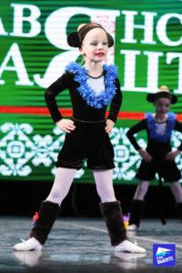 Детский танец на конкурсе Славянскае сваяцтва Минск 2019