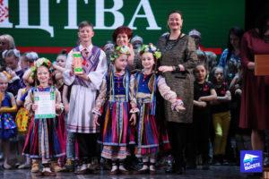 Награждение участников (4) на конкурсе Славянскае сваяцтва Минск 2019