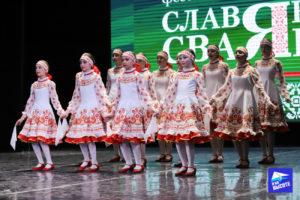 Народные танцы на конкурсе Славянскае сваяцтва Минск 2019