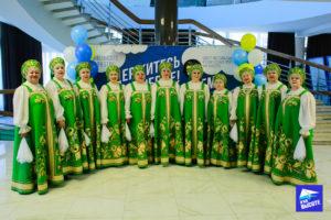 Народный коллектив на конкурсе Славянскае сваяцтва Минск 2019