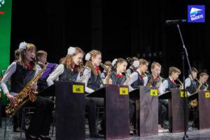 Оркестр на конкурсе Славянскае сваяцтва Минск 2019