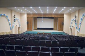 Концертный зал для театрального конкурса ЗАМЕТЬТЕ!