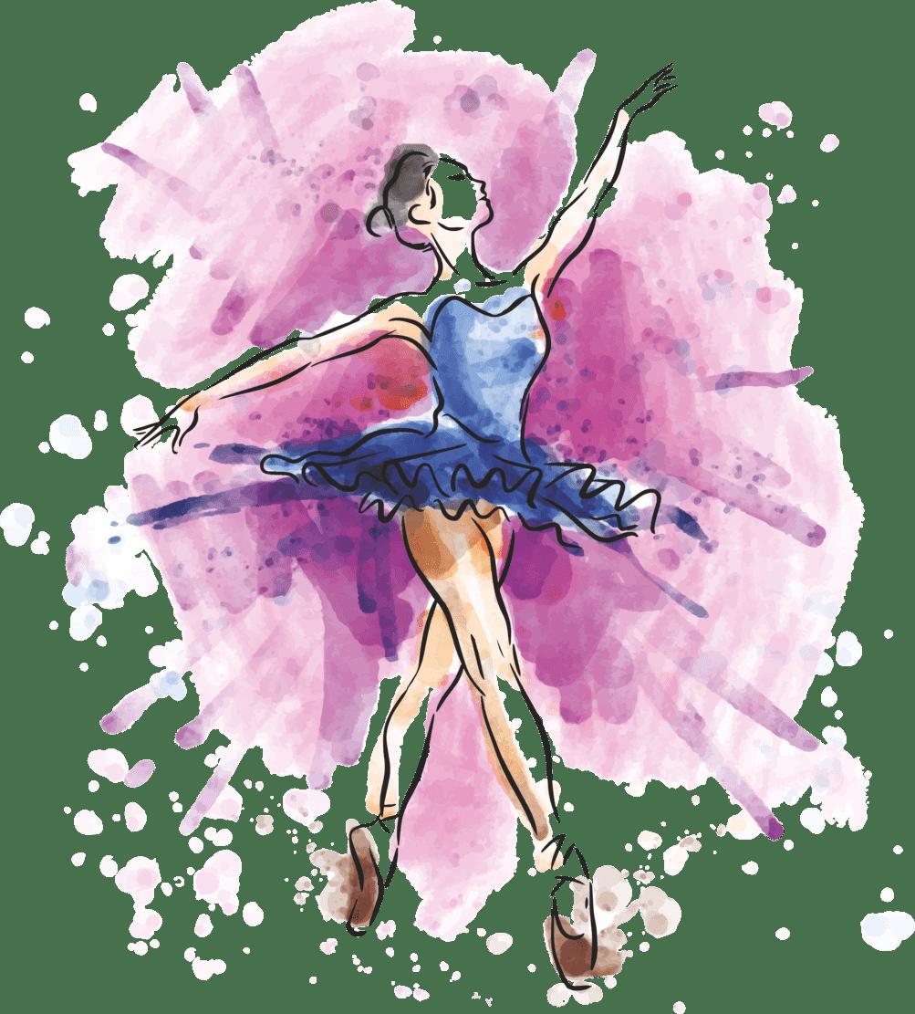 Картинки хореография для детей нарисованные