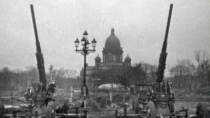 Ленинград артиллерия