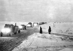 дорога жизни блокада Ленинграда