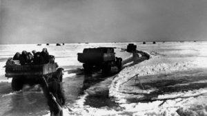Дорога жизни в период блокады Ленинграда