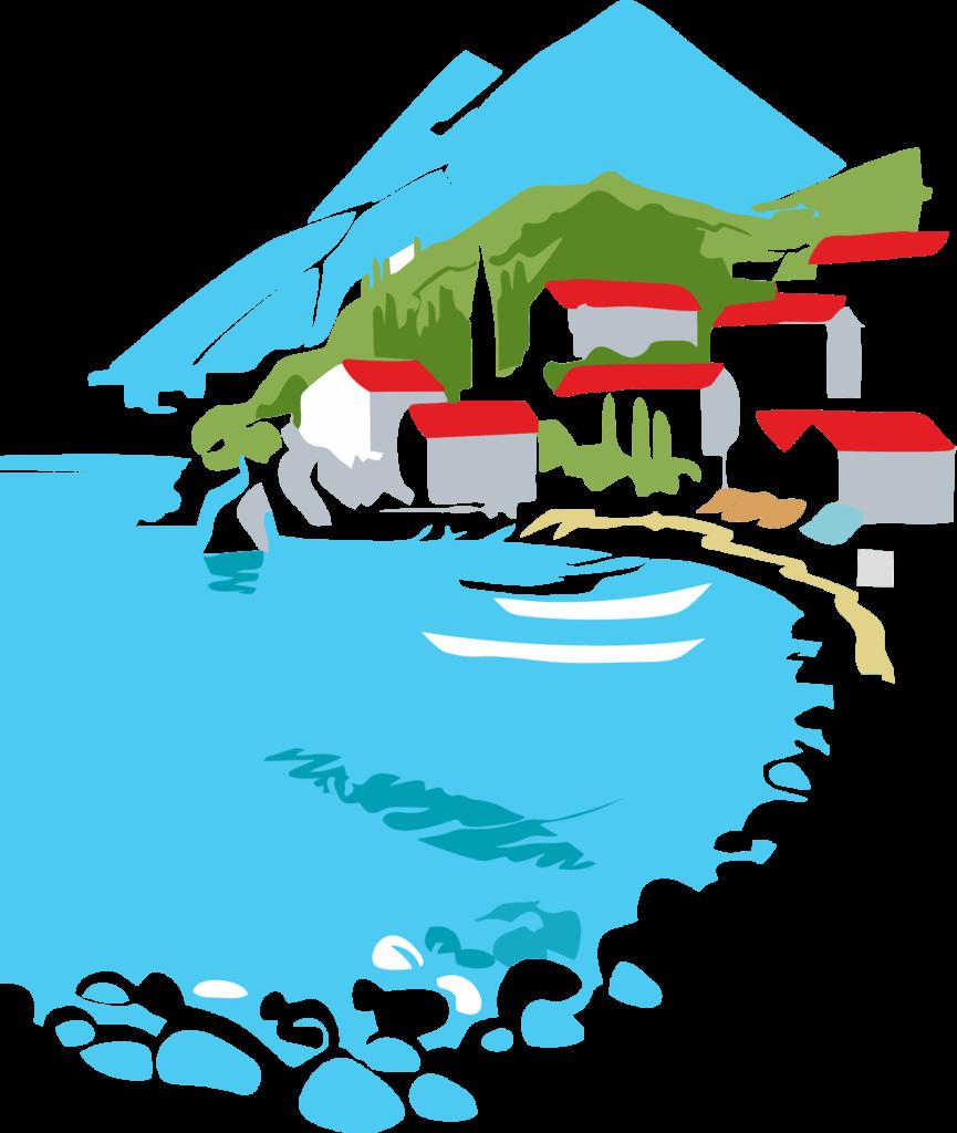 Дома в Черногории у моря