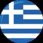 greece flag circle